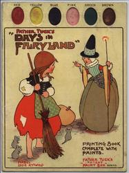 DAYS IN FAIRYLAND PAINTING BOOK