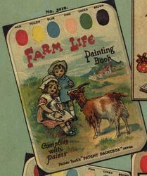 FARM LIFE PAINTING BOOK