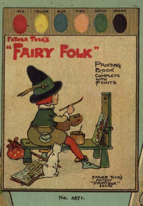 FATHER TUCK'S FAIRY FOLK PAINTING BOOK