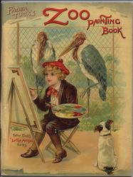 FATHER TUCK'S ZOO PAINTING BOOK