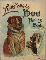 LIOUS WAIN'S DOG PAINTING BOOK