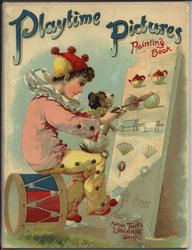 PLAYTIME PICTURES PAINTING BOOK