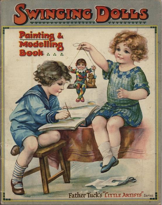 SWINGING DOLLS PAINTING & MODELLING BOOK