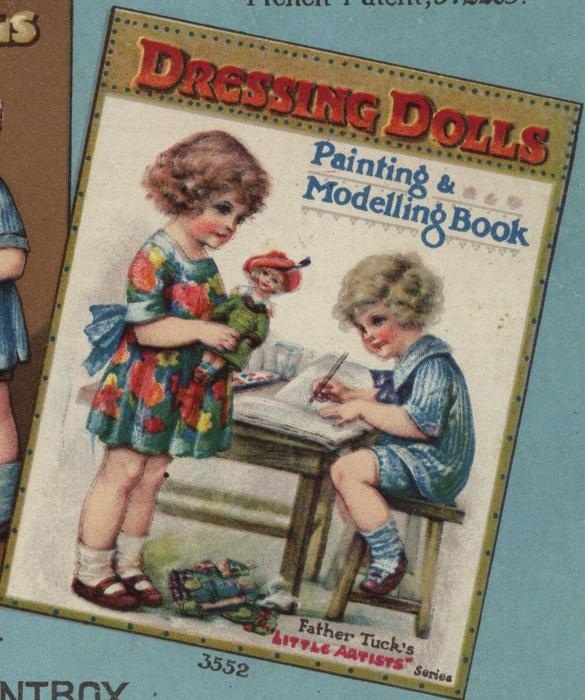 DRESSING DOLLS PAINTING & MODELLING BOOK