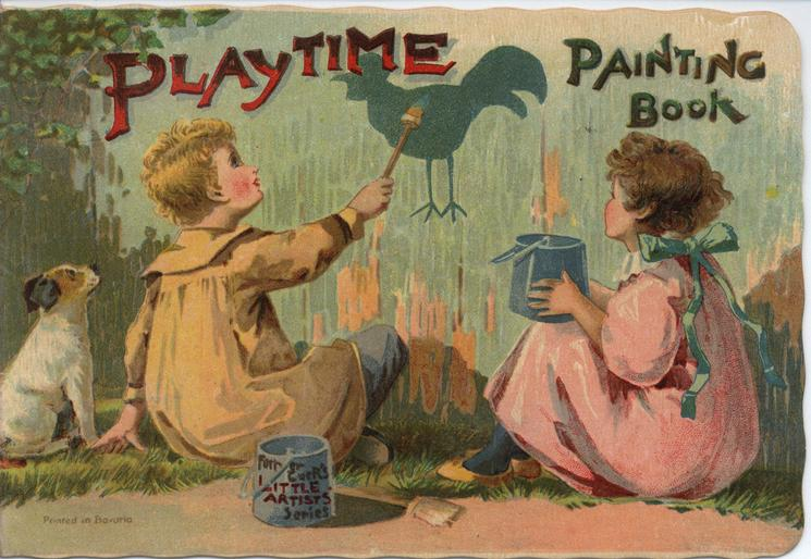 PLAYTIME PAINTING BOOK