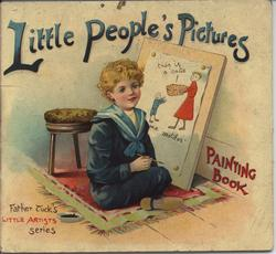 LITTLE PEOPLE'S PICTURES PAINTING BOOK