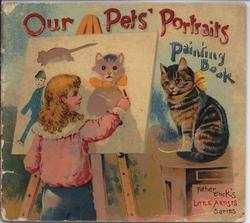 OUR PETS' PORTRAITS PAINTING BOOK
