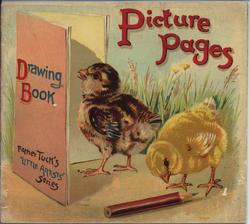 PICTURE PAGES DRAWING BOOK