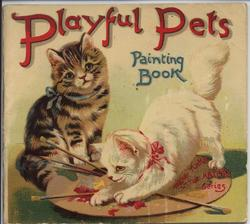 PLAYFUL PETS PAINTING BOOK