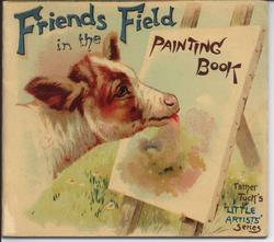 FRIENDS IN THE FIELD PAINTING BOOK