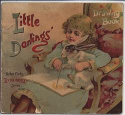 LITTLE DARLINGS DRAWING BOOK