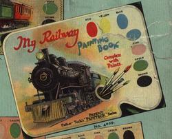 MY RAILWAY PAINTING BOOK