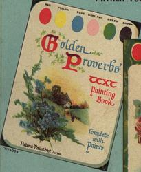 GOLDEN PROVERBS TEXT PAINTING BOOK