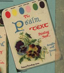 THE PSALM TEXT PAINTING BOOK