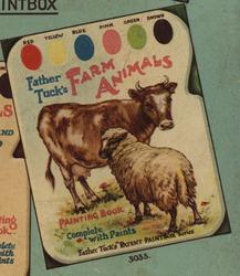 FARM ANIMALS PAINTING BOOK