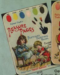 PLEASURE PAGES POSTCARD PAINTING BOOK