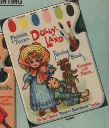 DOLLYLAND PAINTING BOOK