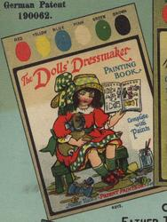 THE DOLLS' DRESSMAKER PAINTING BOOK