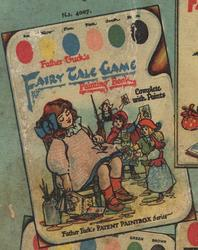 FATHER TUCK'S FAIRY TALE GAME PAINTING BOOK
