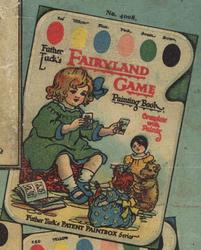 FATHER TUCK'S FAIRYLAND GAME PAINTING BOOK