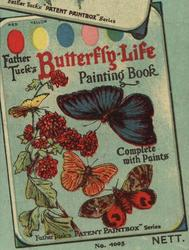 FATHER TUCK'S BUTTERFLY-LIFE PAINTING BOOK