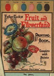 FRUIT AND FLOWERLAND PAINTING BOOK
