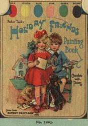 FATHER TUCK'S HOLIDAY FRIENDS PAINTING BOOK