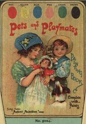 PETS AND PLAYMATES PAINTING BOOK