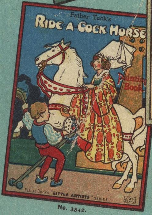 FATHER TUCK'S RIDE A COCK HORSE PAINTING BOOK