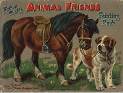 FATHER TUCK'S ANIMAL FRIENDS PAINTING BOOK