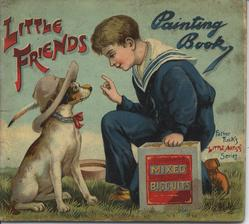 LITTLE FRIENDS PAINTING BOOK