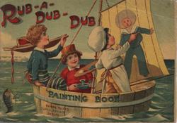 RUB-A-DUB-DUB PAINTING BOOK