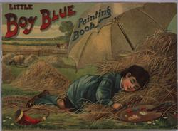 LITTLE BOY BLUE PAINTING BOOK