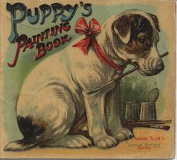 PUPPY'S PAINTING BOOK