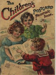 THE CHILDREN'S POSTCARD PAINTING BOOK