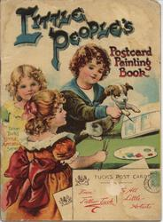 LITTLE PEOPLE'S POSTCARD PAINTING BOOK