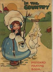 IN THE COUNTRY POSTCARD PAINTING BOOK