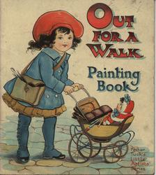 OUT FOR A WALK PAINTING BOOK