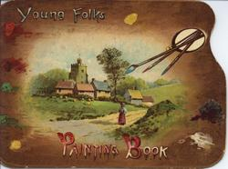 YOUNG FOLKS PAINTING BOOK