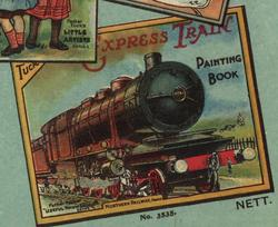 FATHER TUCK'S EXPRESS TRAIN PAINTING BOOK