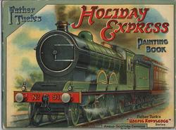 FATHER TUCK'S HOLIDAY EXPRESS PAINTING BOOK