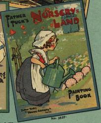 FATHER TUCK'S NURSERY=LAND PAINTING BOOK