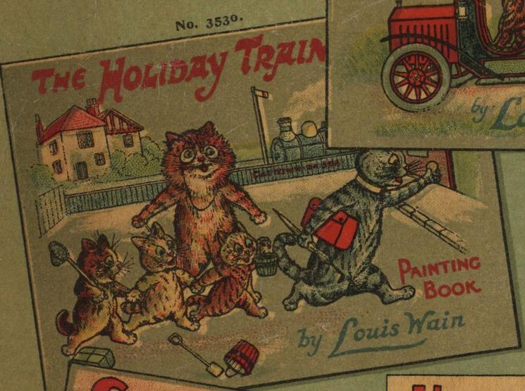 THE HOLIDAY TRAIN PAINTING BOOK