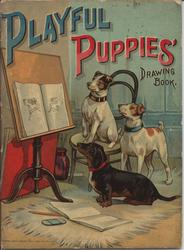 PLAYFUL PUPPIES DRAWING BOOK