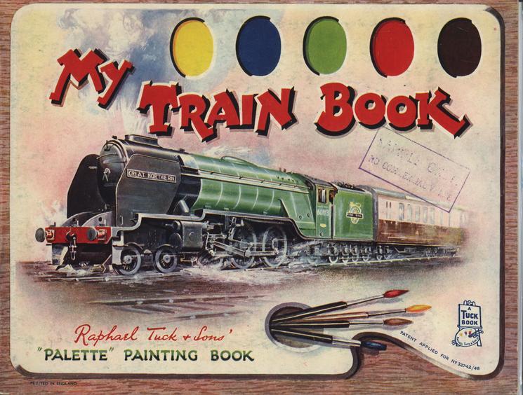 MY TRAIN BOOK