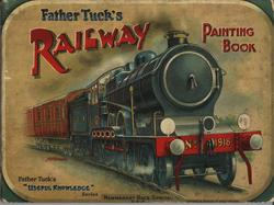 FATHER TUCK'S RAILWAY PAINTING BOOK