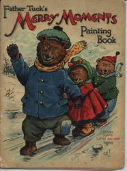 FATHER TUCK'S MERRY MOMENTS PAINTING BOOK