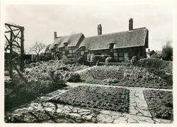 THE COTTAGE FROM THE HERB GARDEN