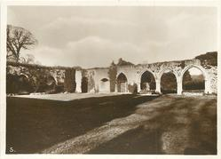 NORTH AND EAST END OF CLOISTERS
