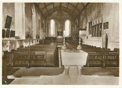 MONKS, REFECTORY LOOKING SOUTH, NOW PARISH CHURCH